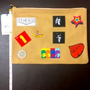 The Beatles Patches BriefCase